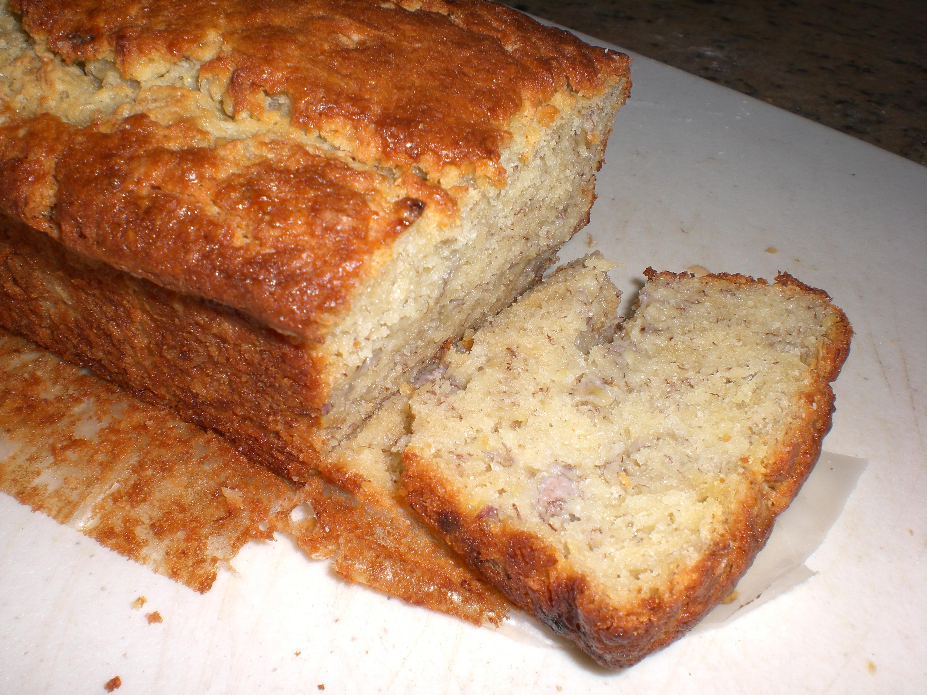 Easy bake banana bread recipe