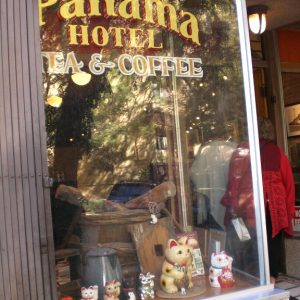 Panama Hotel store front