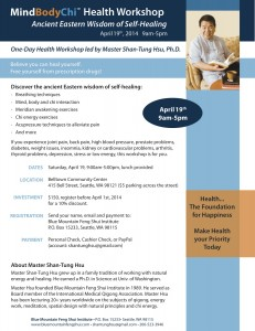 dr hsu health workshop April