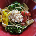 Japanese pasta salad