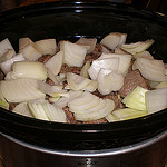 Beef Curry in a Slow Cooker