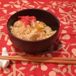 Japanese Mixed Rice - Takikomi Gohan