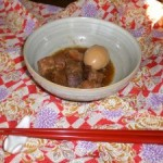 Stewed Shoyu Pork with Boiled Eggs