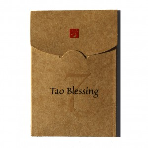 Each blessing will be enclosed in this beautiful envelope.
