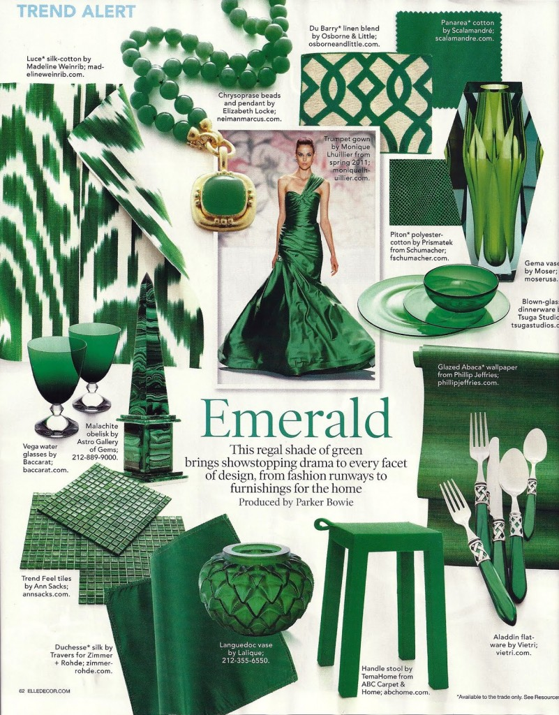 Elle Décor April 2011