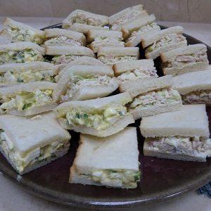 Japanese sandwiches