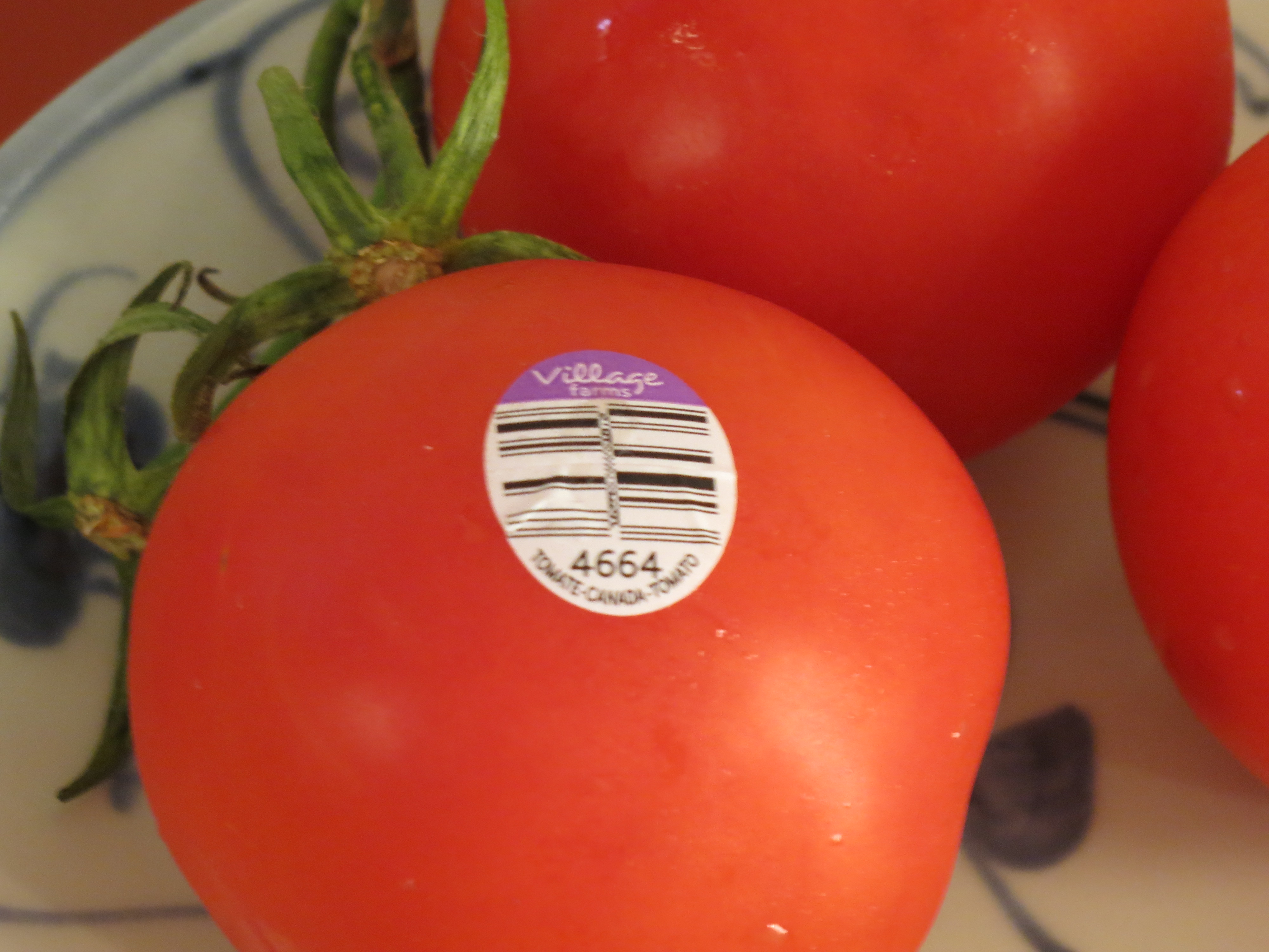 Five-digit PLU codes tell us the produce is not traditionally grown. For example, a five-digit PLU code starting with the number