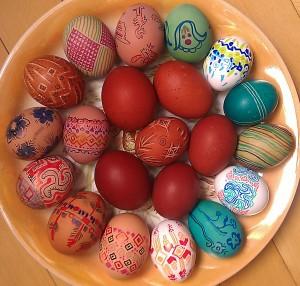 Tara's Easter Eggs