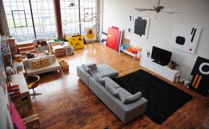 Dee's Loft by AJ Photography: My Live Work Studio
