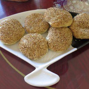 Sesame buns