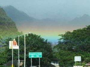 Pali Hwy rainbow