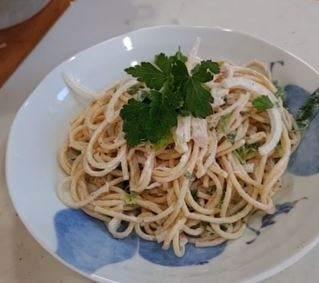 Japanese tuna pasta