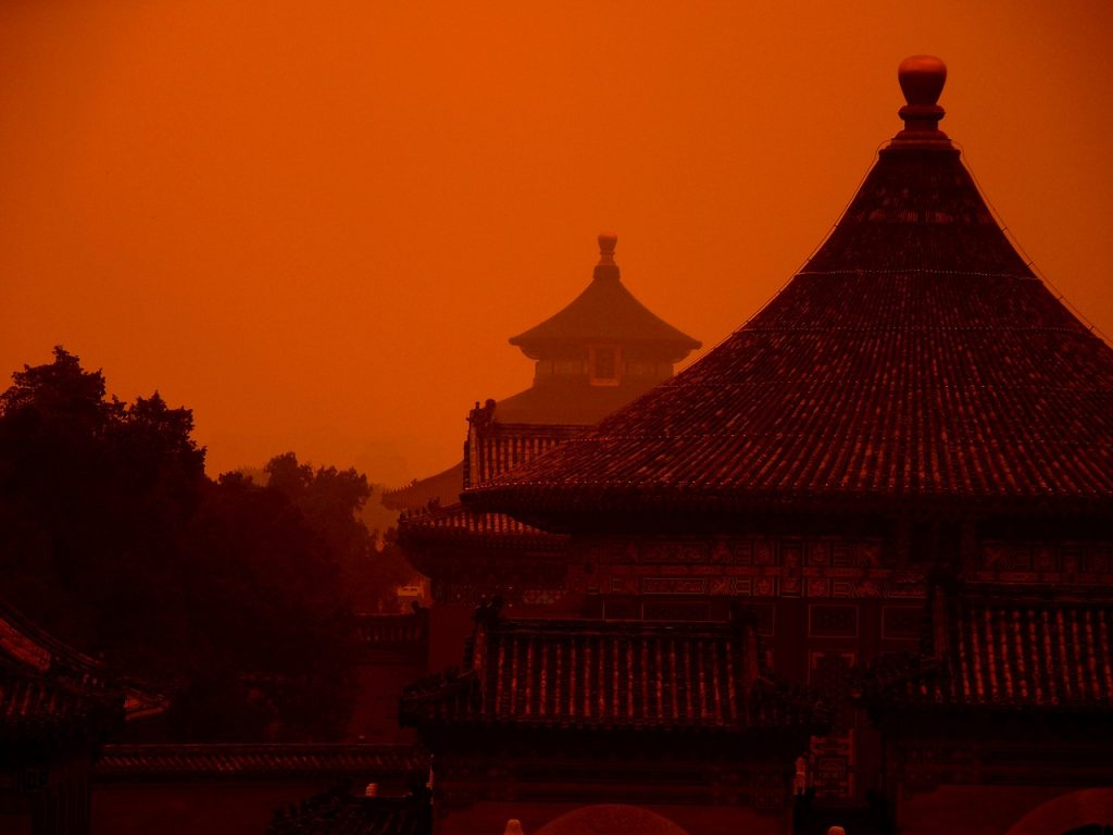 china, temple, heaven