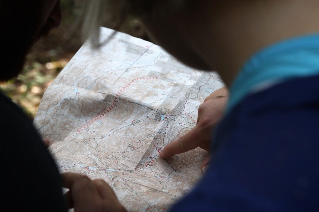 map, navigate, explore