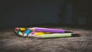 pencils, writing, stationery