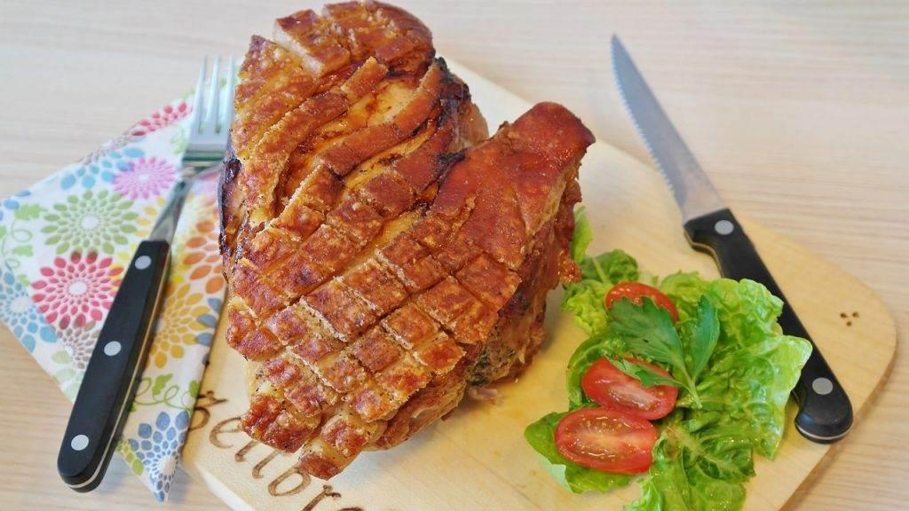 roast pork, pig, crust roast