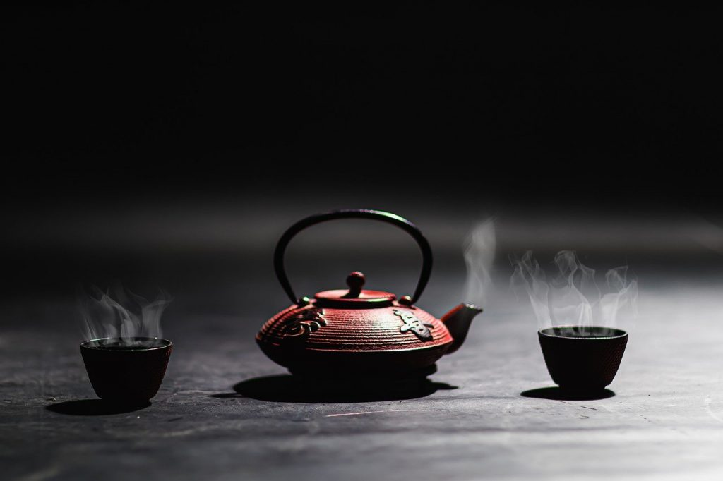 teapot, tea, traditional