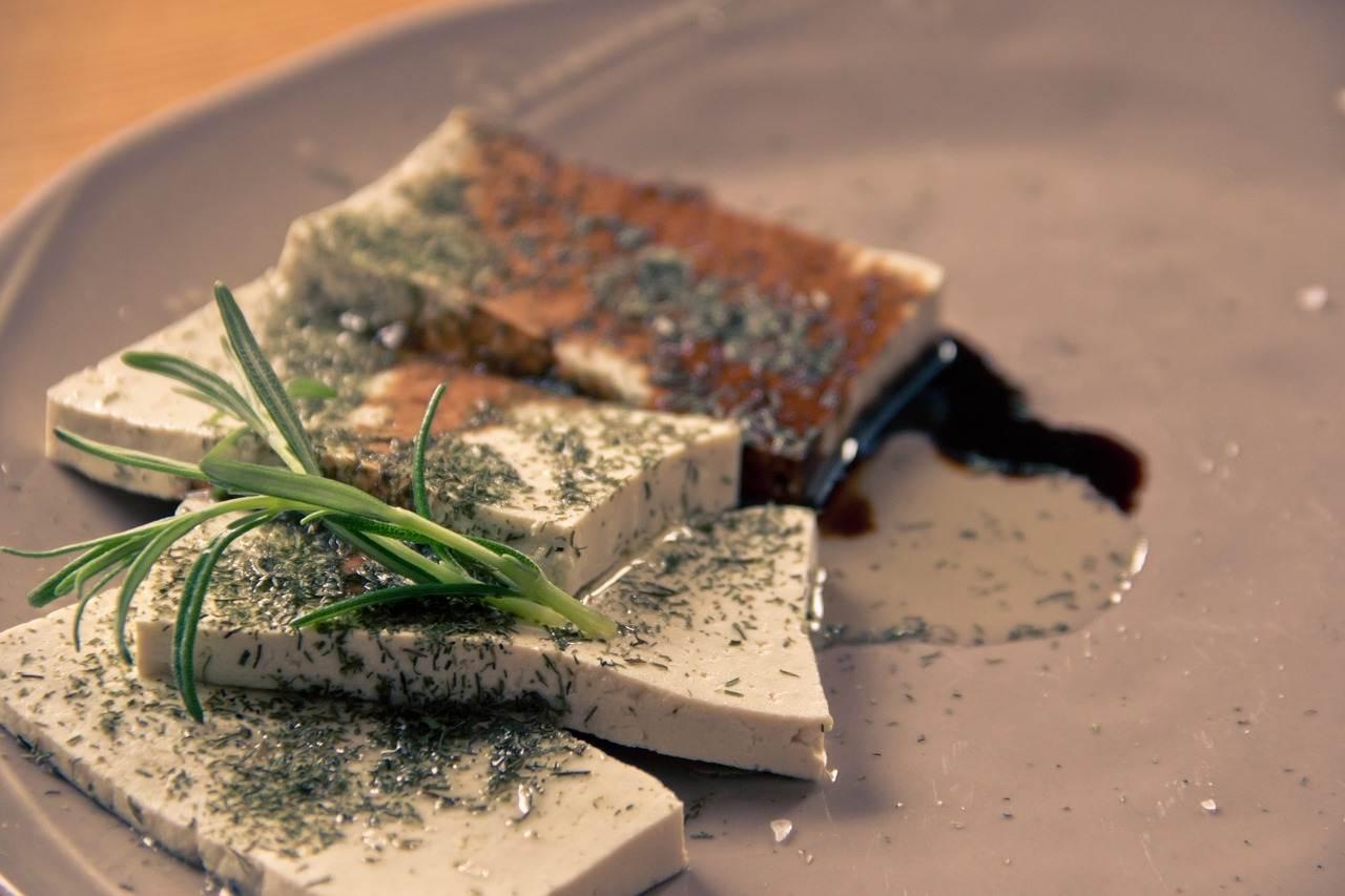 tofu, food, soy