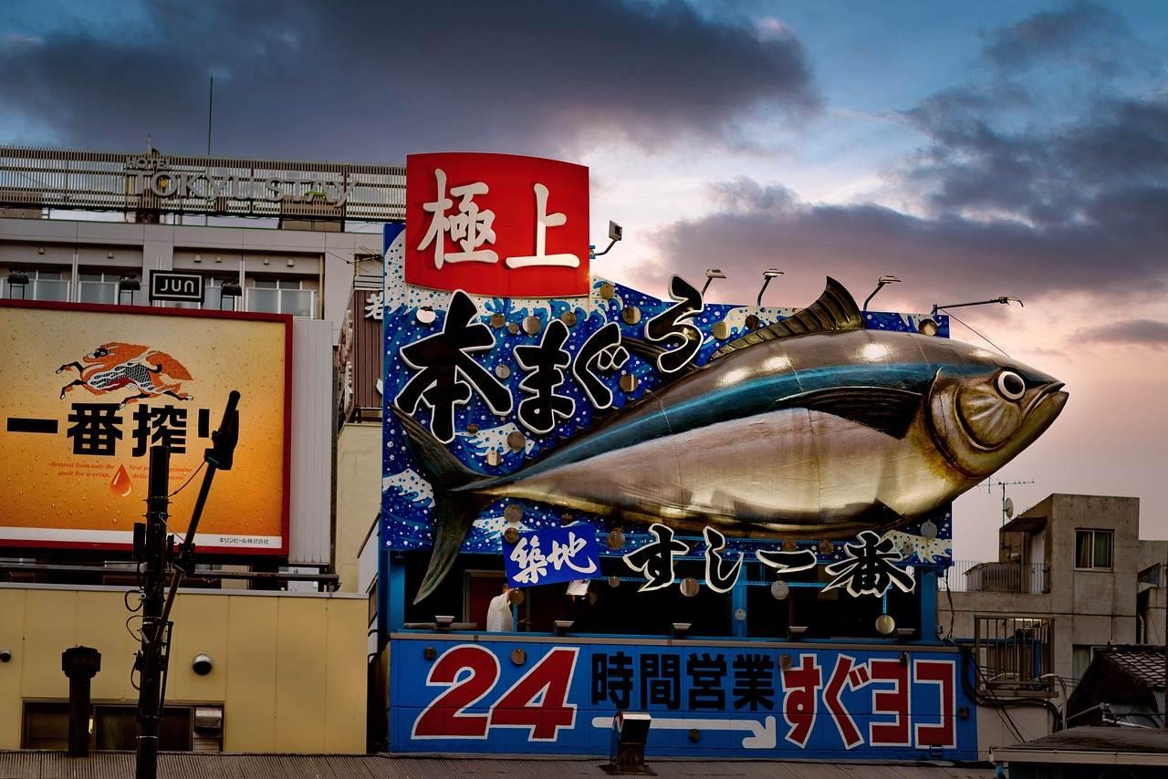 warehouse, fish, fish shop